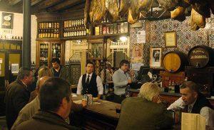 El Rinconcillo - бар, в котором время остановилось