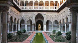Королевсквя резиденция в Севилье