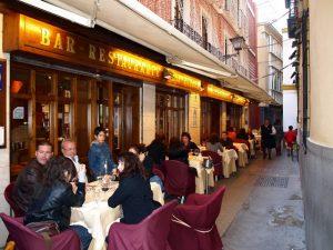 Один из лучших ресторанов Севильи - Casa Robles